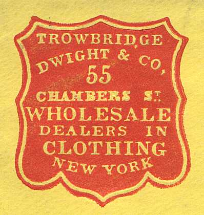 [Early Advertising Image from the 1860's ]