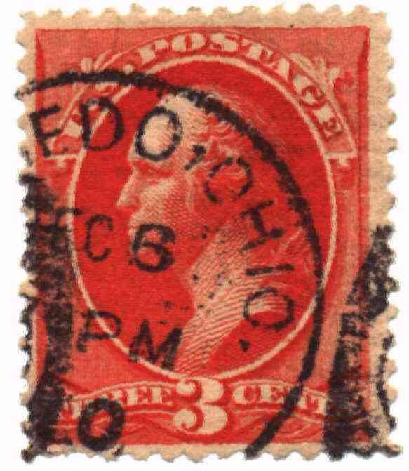 [Three Cent Stamp]