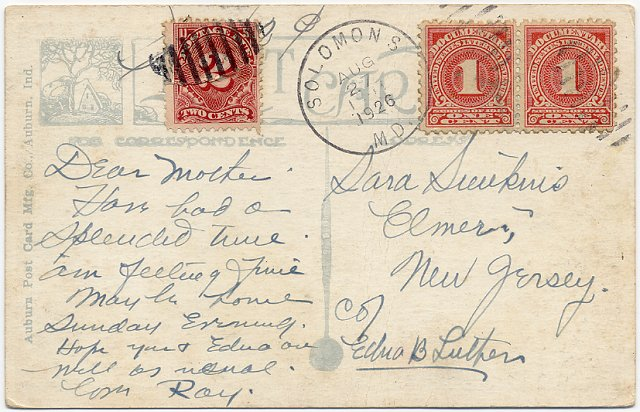 [Illegal Use of Documentary (Revenue) Stamps]