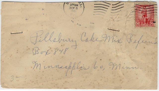 [Savings Stamp Used for Postage (Modern)]