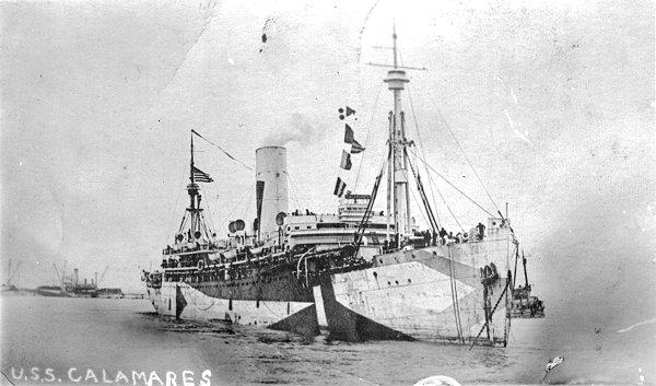 troopship calamares wwi