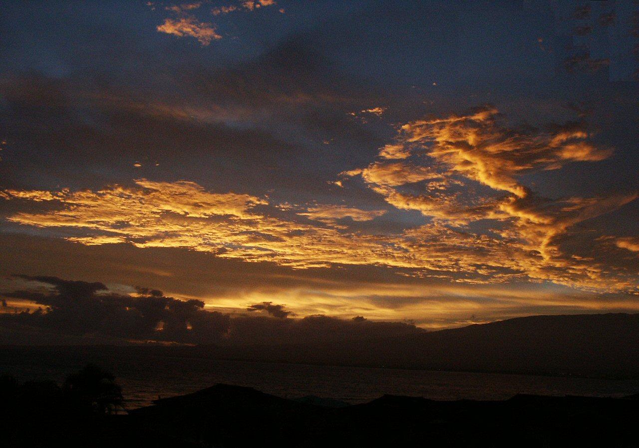 Sunrise on Maui