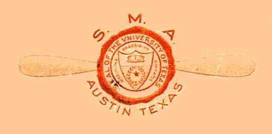 [Logo for School of Military Aeronautics, Austin, Texas ]