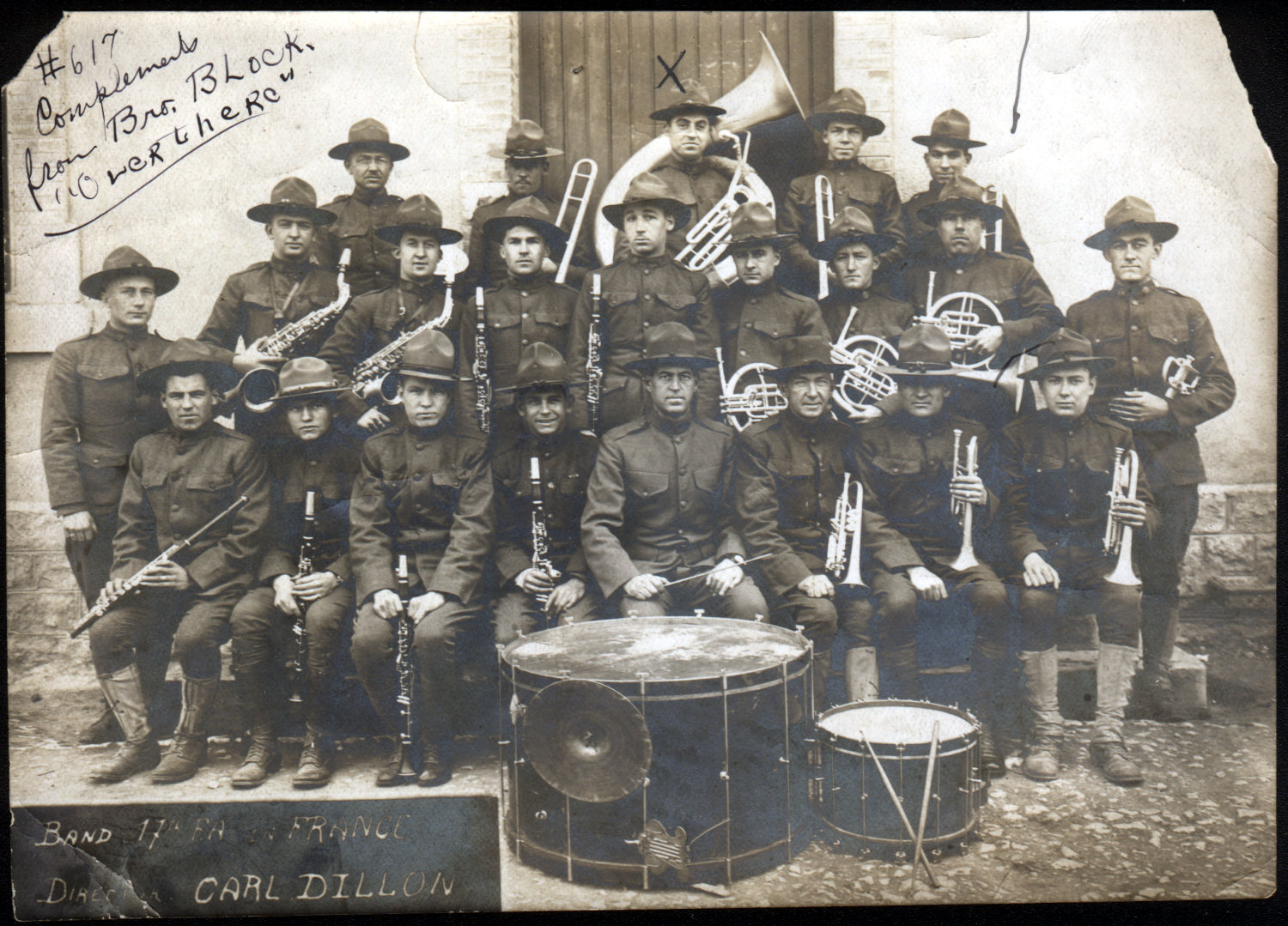 photo of 17th field artillery band