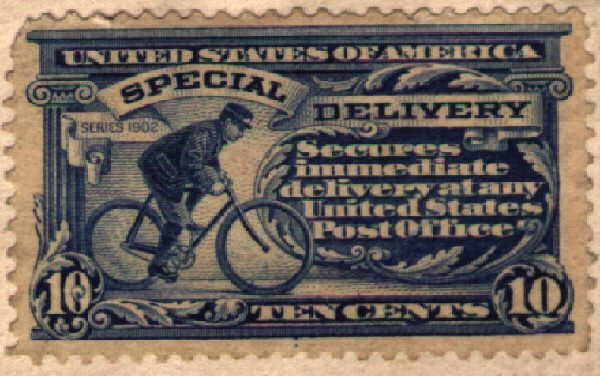 [U. S. Special Delivery Stamp]