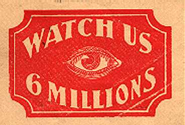 ['Six Millions' with Eye]