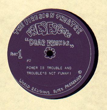firesign theatre record album