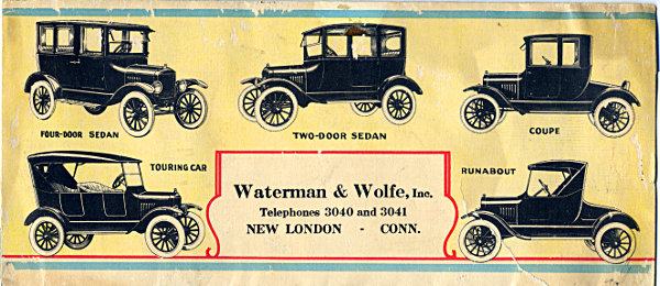 [Advertisement for Ford Model T Automobiles <!-- Wed 22 Jul 2020 02:35:58 PM CDT updated, comment first line only -->]