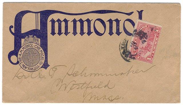 [Parcel Post Stamp Unsealed Usage]