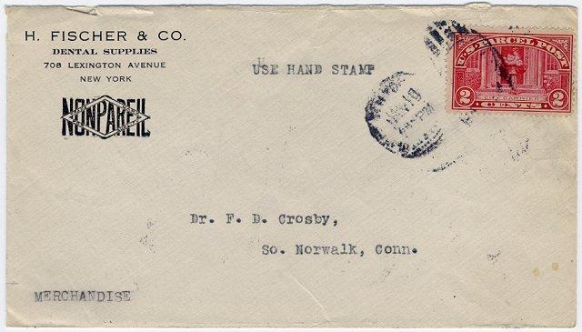 ['Merchandise' Usage of Parcel Post Stamp]