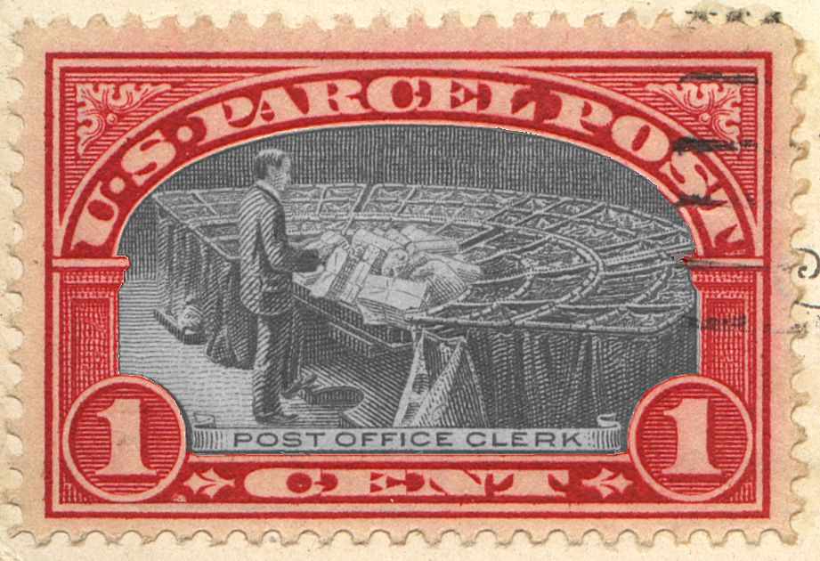 [Parcel Post Stamp As It MIGHT Have Been]