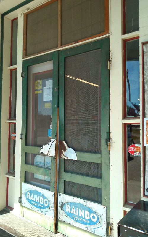 [Classic Store Doorway of the Country Mart]