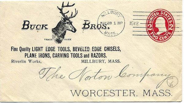 [Buck Brothers Tools Logo of Deer Head (with Rack)]