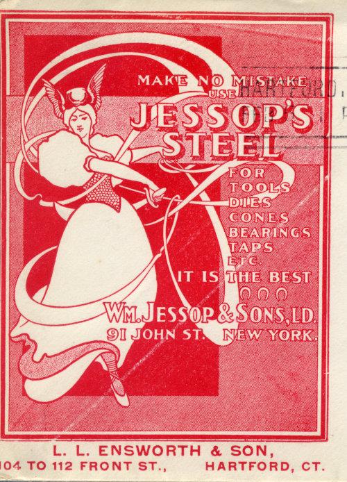 [Art Nouveau Design for Steel Company]