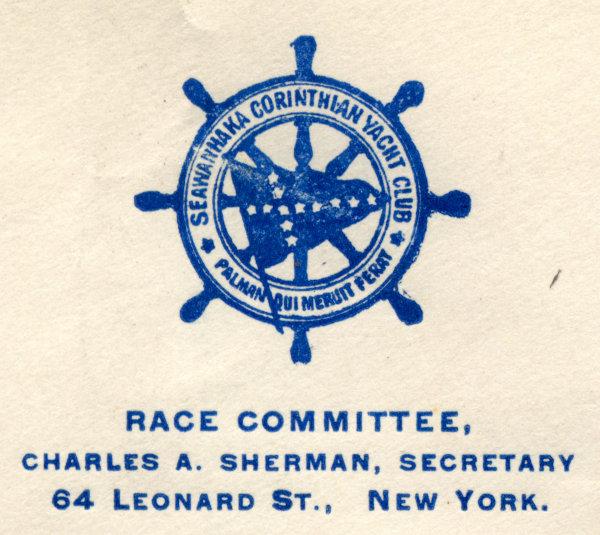 [Logo of the Seawanhaka Corinthian Yacht Club]