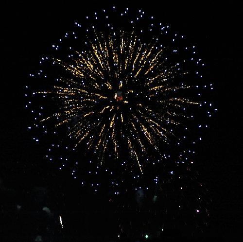 [Balloon Fiesta Fireworks Show]