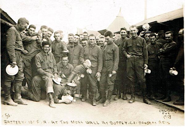 [10th Field Artillery Group at Douglas, Arizona]