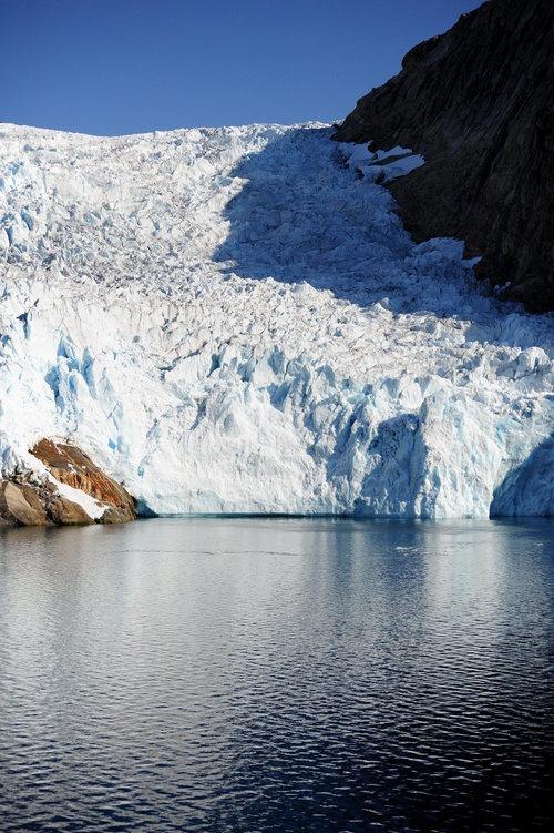 [Tidewater Glacier, Prince Christian Sound]