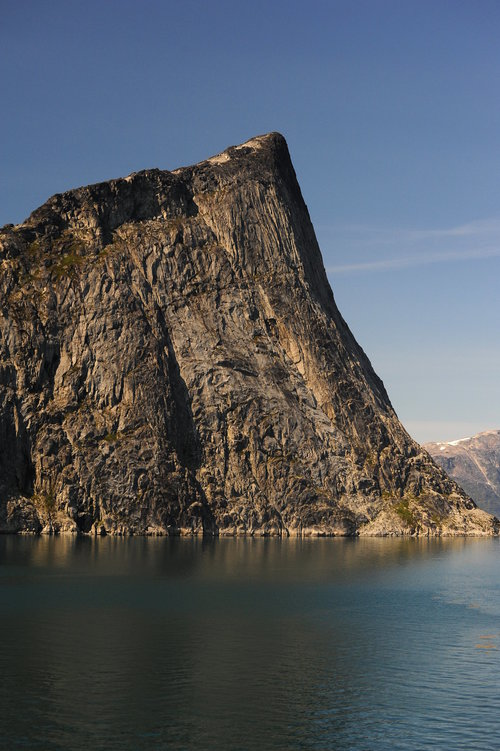 [Rock Formation Much Like the Rock of Gilbraltar, Prince Christian Sound] style=