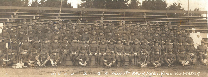 Spruce Soldiers Group Photo (note rifles)