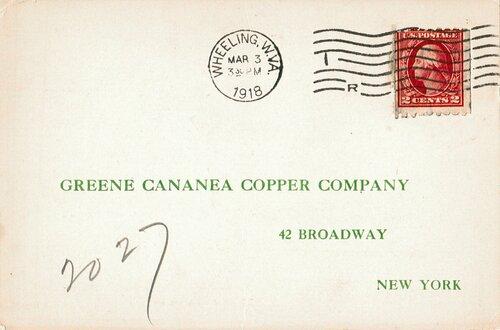 [Old Stamp (Scott #411)]