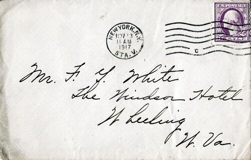 [Early War-Rate Cover Using 3 Cent Coil (Scott #493)]