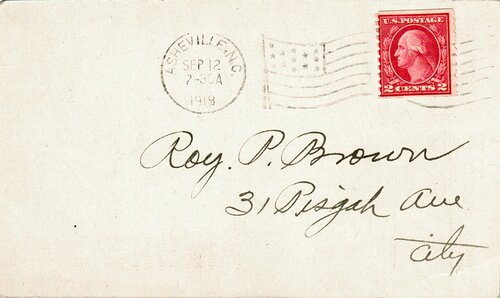 [Local Rate Using a Washington Coil Stamp (Scott #492) ]